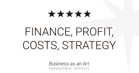 finance profit cost budget restructuralization by business as an art product portfolio
