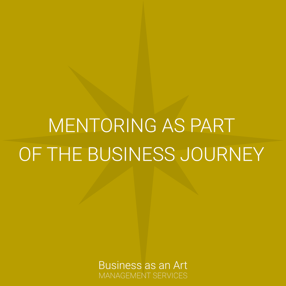 coaching and mentoring as part of the business journey
