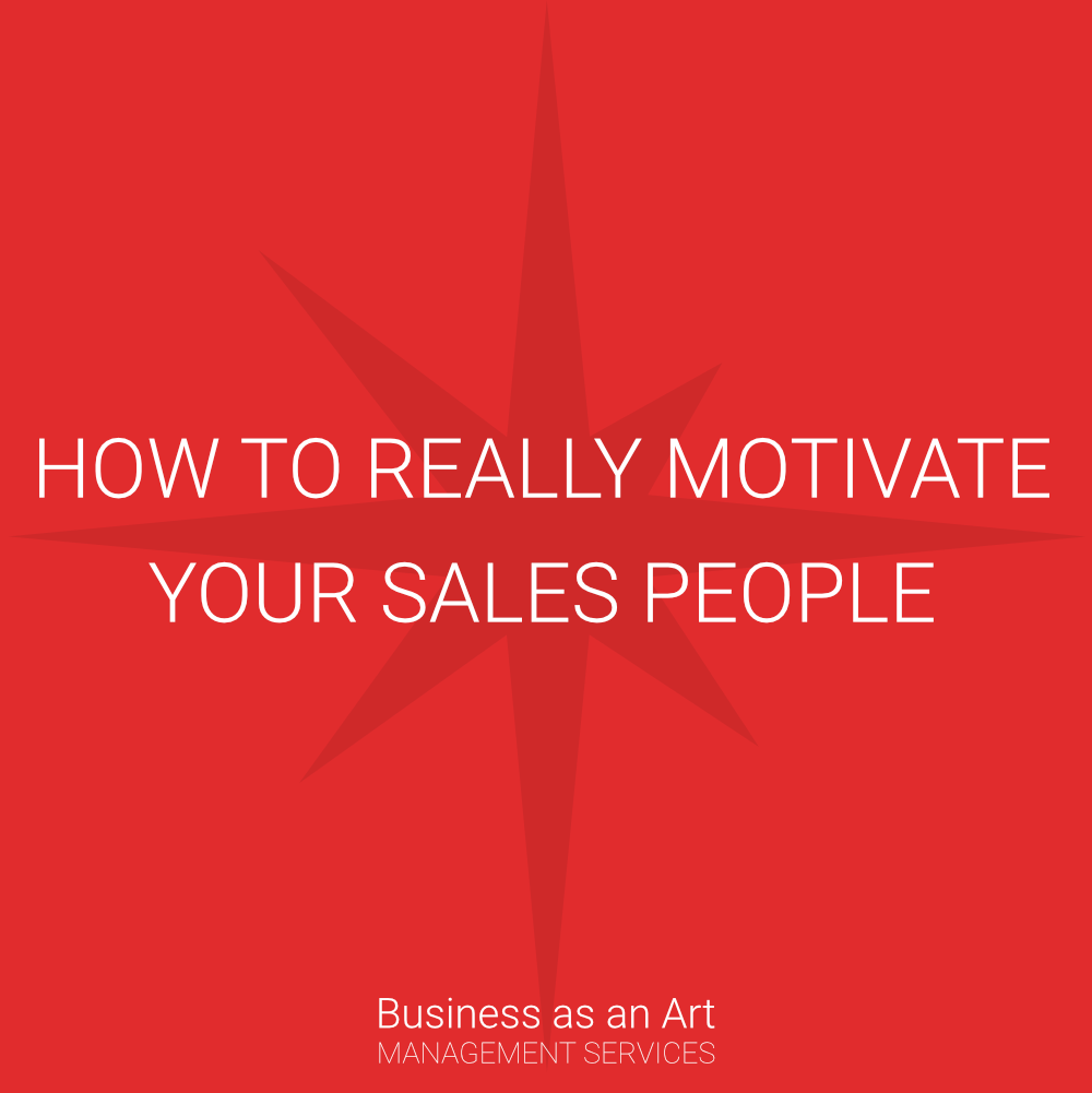 how to really motivate sales people