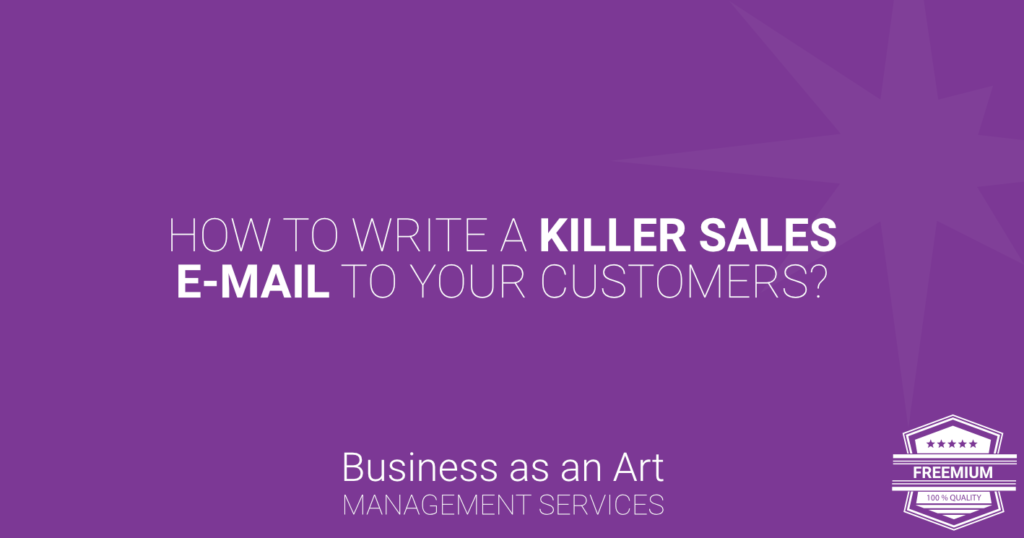 how-to-write-killer-sales-email-to-customers-sequence-freemium