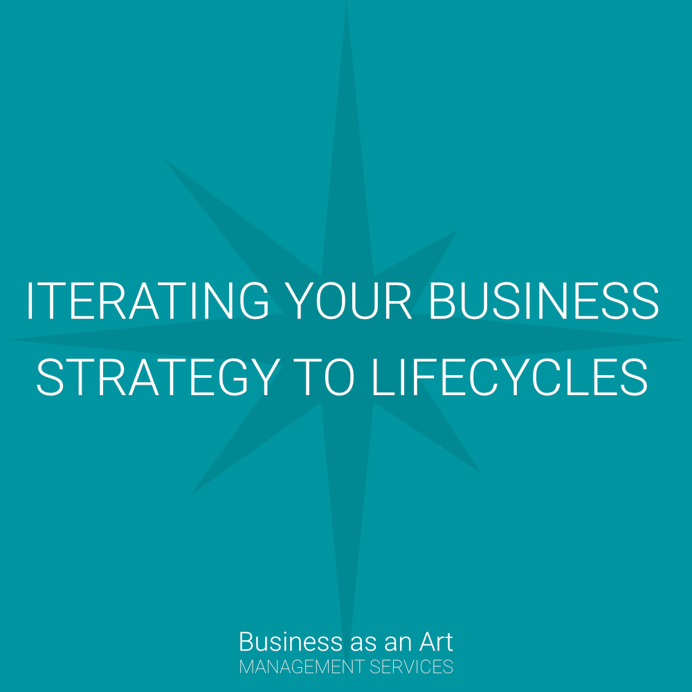 iterating your business strategy to lifecycles