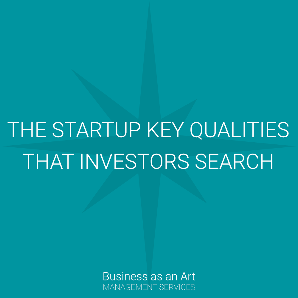 startup qualities that investors search