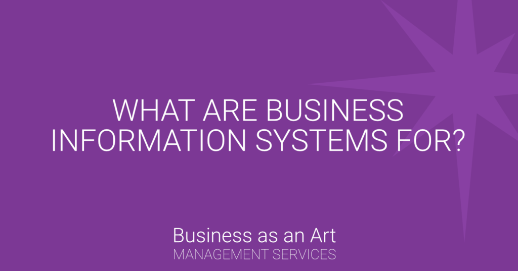 what-are-business-information-systems-for