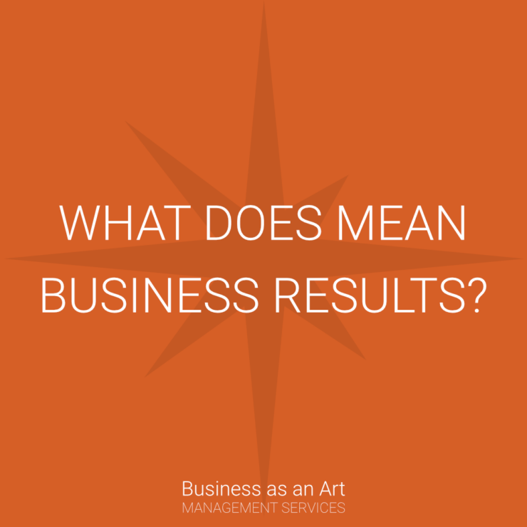what does mean business results