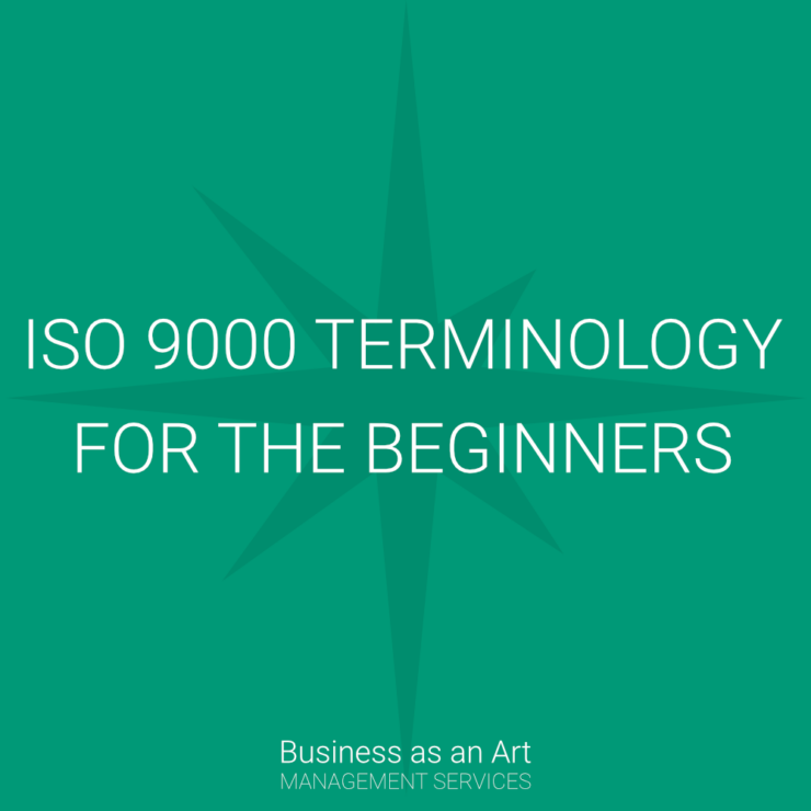 iso 9000 terminology for beginners