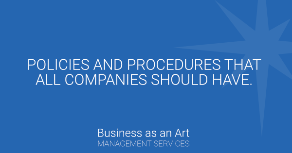 policies-and-procedures-that-all-companies-should-have