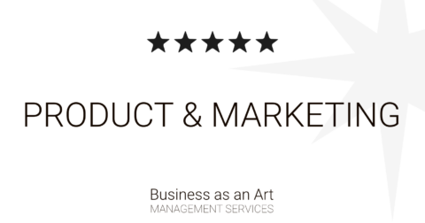 product management and marketing by business as an art product portfolio