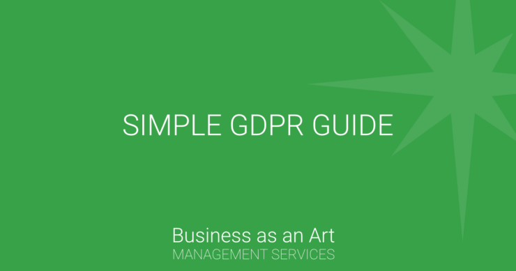simple gdpr guide for organizations compliance data processing