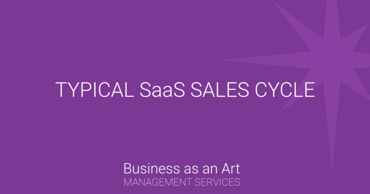 typical SaaS sales cycle model product free trial strategy