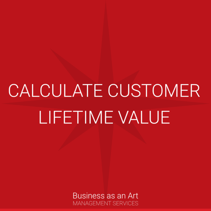 calculate customer lifetime value CLTV LTV by business as an art